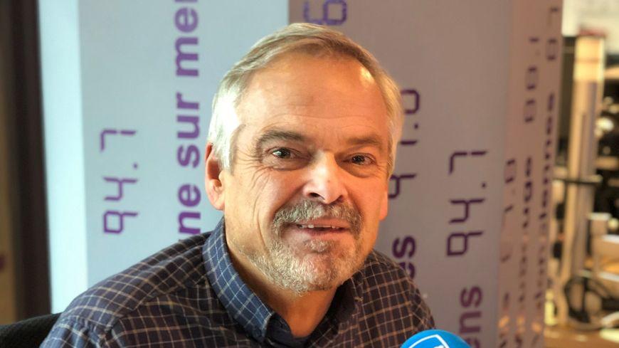 Bertrand Trinel, président de l'association.