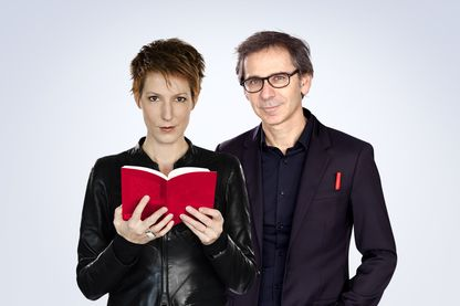Natacha Polony et Gilles Finchelstein (image émission)