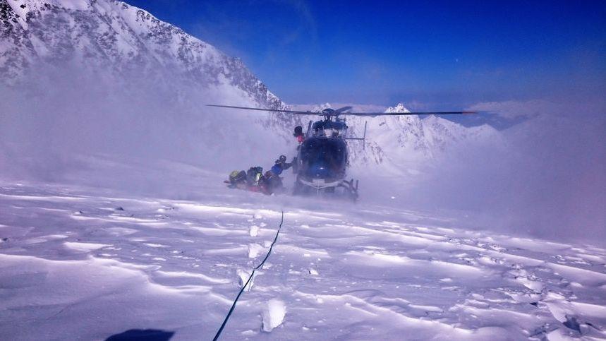 Le PGHM de l'Isère a secouru un homme de 39 ans qui a fait une chute de près de 700 mètres