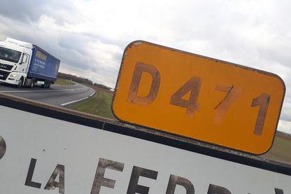 La D471, 34 kms de ligne droite, 4 ronds-points et des automobilistes qui ne respectent pas les limitations de vitesse