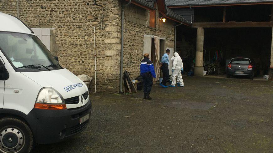 Le domicile familial, à Salles-Adour dans les Hautes-Pyrénées, où a eu lieu le drame.