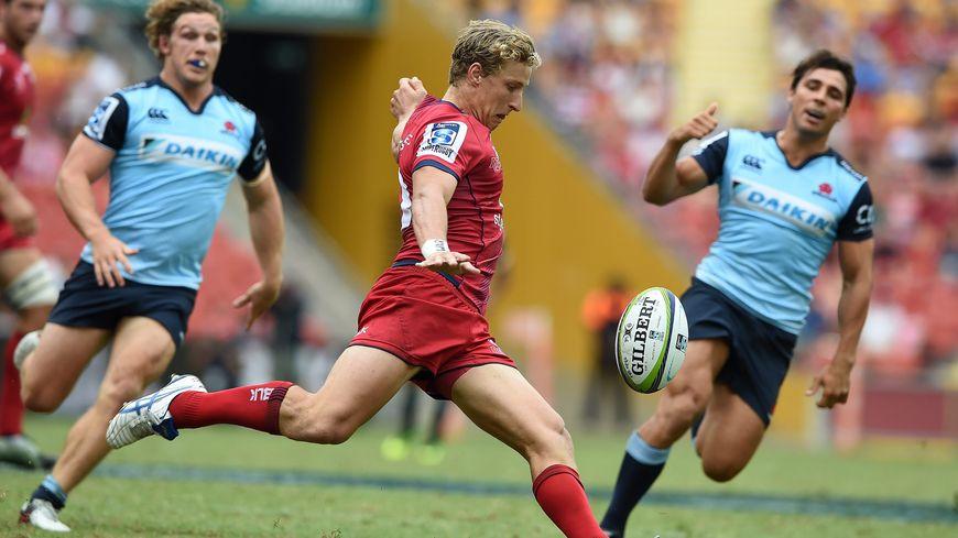 L'Australien Jake McIntyre évoluait aux Queensland Reds avant de débarquer en France