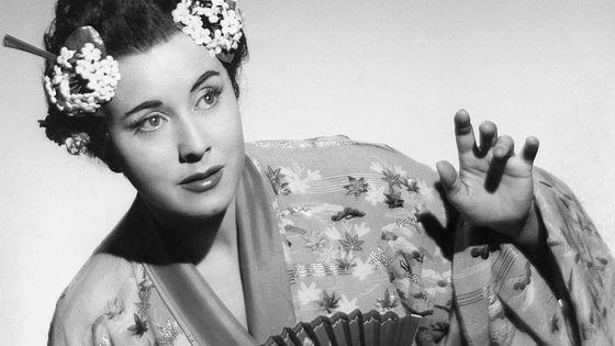 Lisa Della Casa dans Madame Butterfly