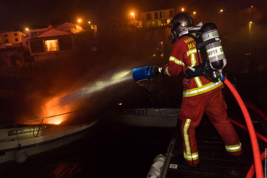 L'incendie a été éteint à 2h du matin ce dimanche 6 janvier