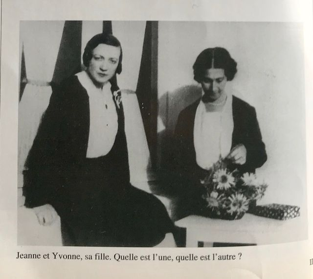 """Dans un livre qu'ils lui ont consacré """"Les 120 ans de Jeanne Calment"""", Michel Allard et Jean-Marie Robine peinent eux aussi à distinguer Jeanne Calment de sa fille Yvonne"""