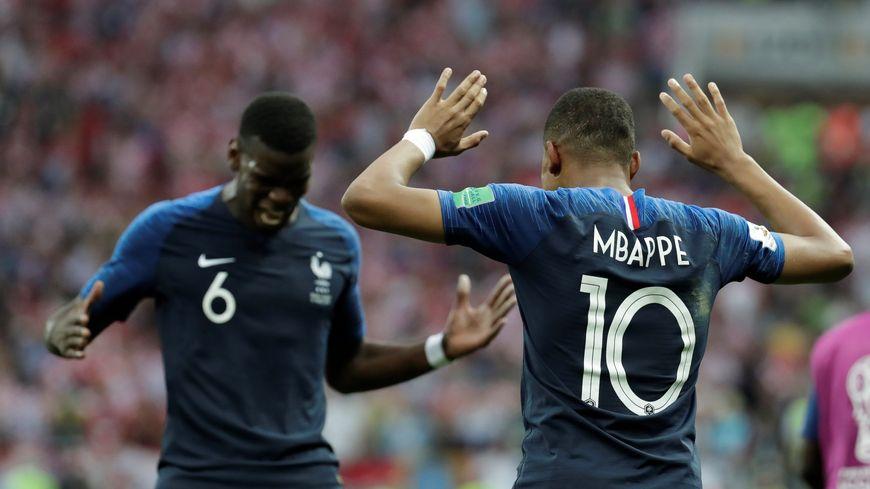Kylian Mbappé et Paul Pogba ont rendu hommage à Diego.