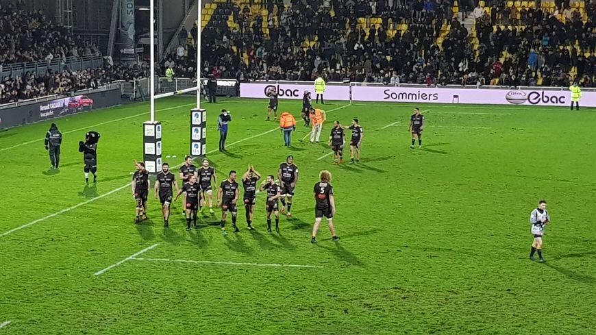 Victoire de La Rochelle sur Montpellier 27 à 25