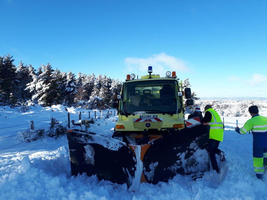 La Lozère est entrée en période de viabilité hivernale et va le rester jusqu'au 13 mars prochain.