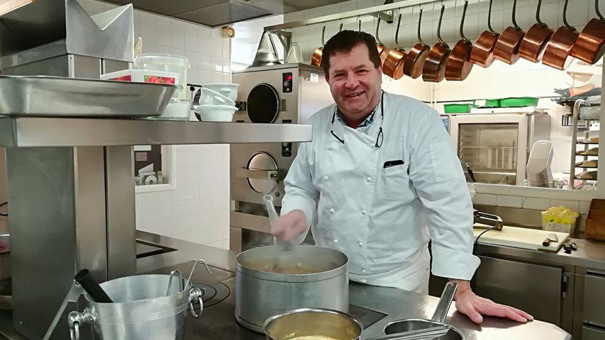 Didier Peschard quittera ses cuisines le 1 mars