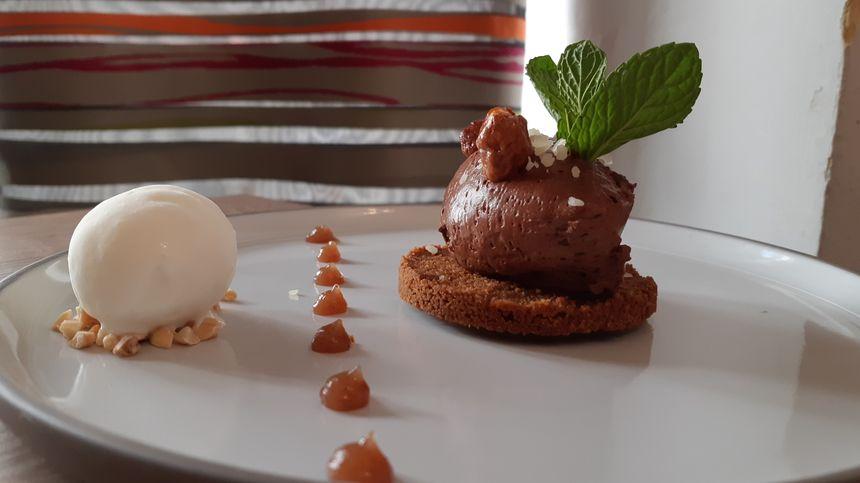 Le dessert par Damien Marie