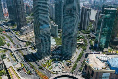 Cette photo de Shanghai permet de zoomer au maximum sur les détails de la ville
