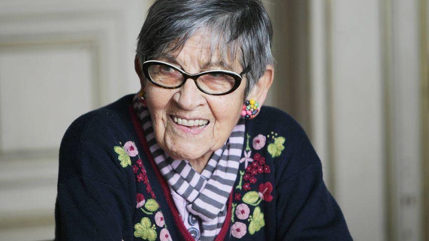 Ginette Kolinka, en 2015.