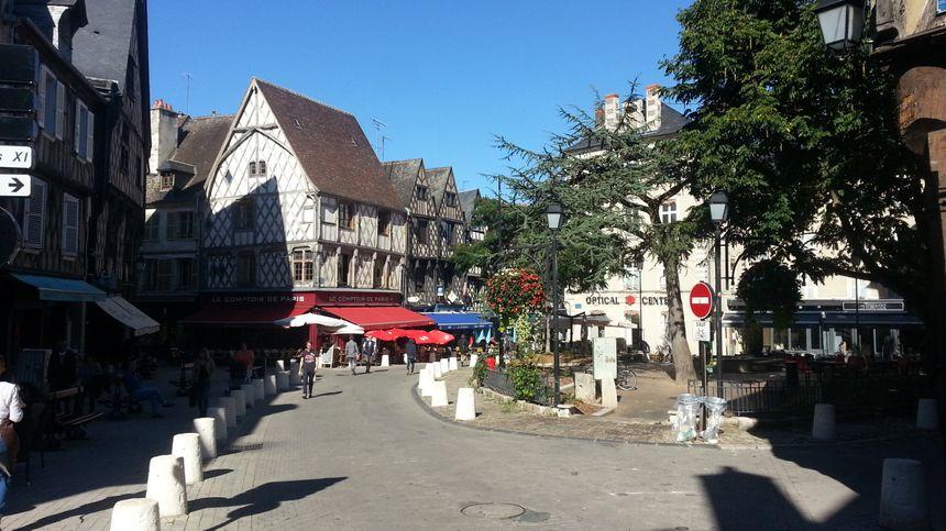 La place Gordaine à Bourges va être entièrement refaite.