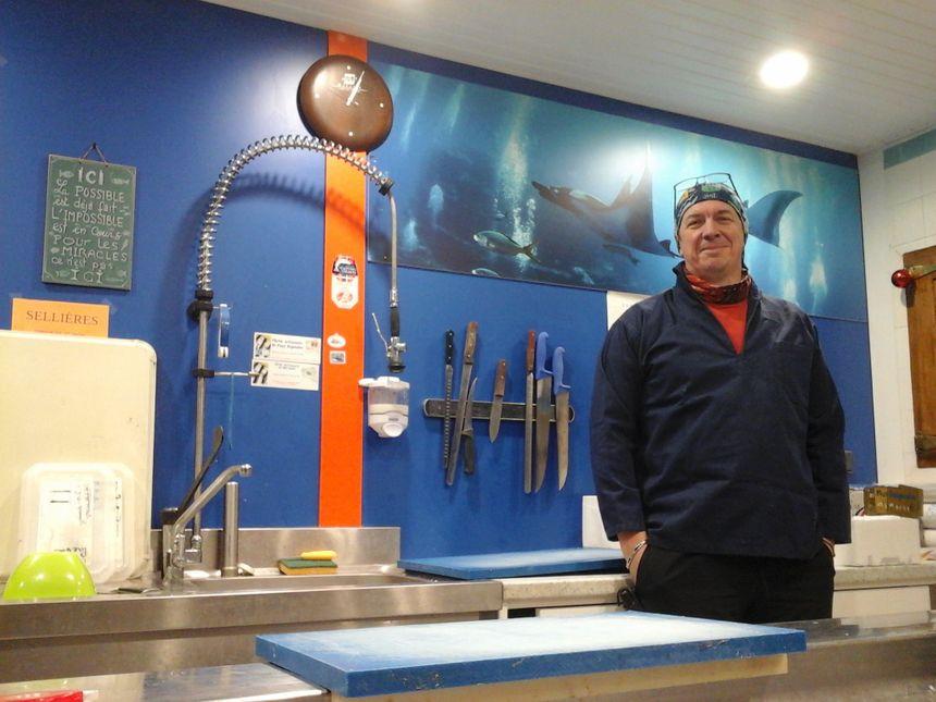 Jean-Charles Grandjean, chantre du Made in Jura, des boissons aux poissons...