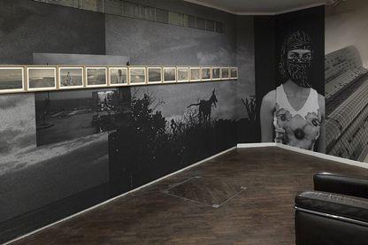 """L'installation """"Mélancolie des collines"""""""
