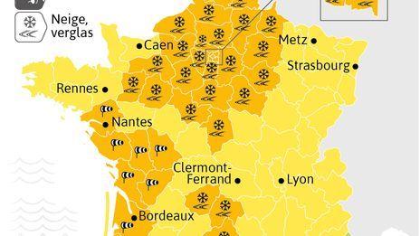 La Charente et la Charente Maritime en alerte orange vents violents.