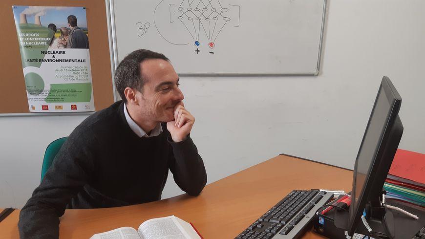 Guillaume Zambrano, l'enseignant-chercheur à l'origine de ce nouveau DU