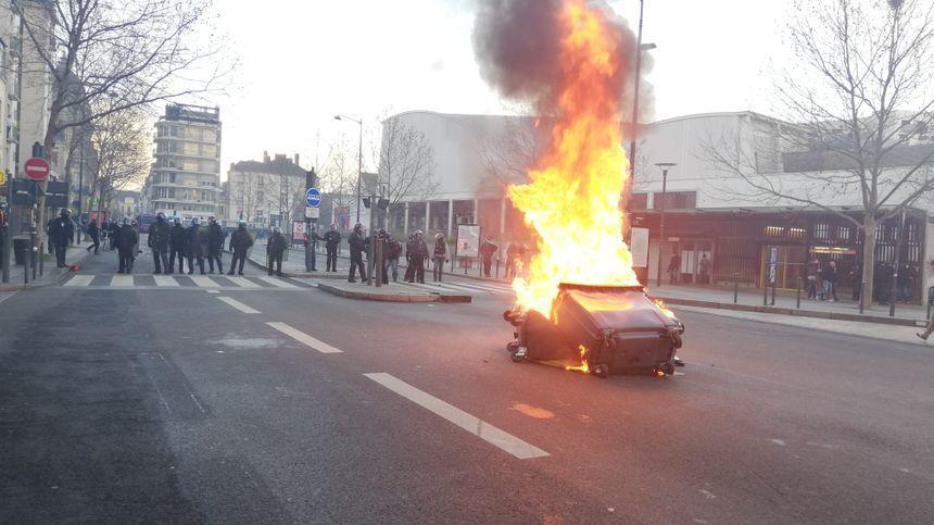 La situation a été très tendue le samedi 19 janvier à Rennes