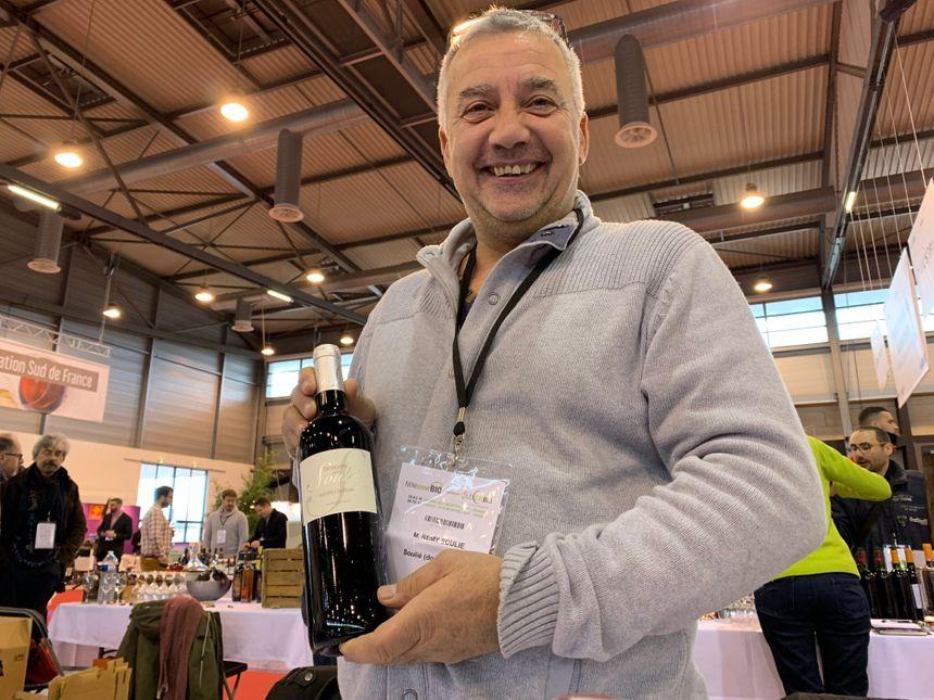Rémy Soulié cultive aujourd'hui 30 ha de vignes en appellation Saint-Chinian