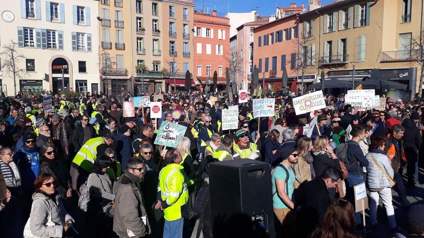La marche pour le climat est partie de la place de la République