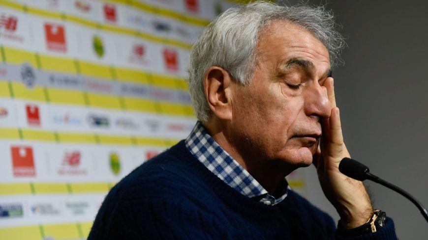 Vahid Halilhodžić est revenu à plusieurs reprises, ce lundi, sur la disparition d'Emiliano Sala lors de la conférence de presse d'avant-match, face à Saint-Etienne.