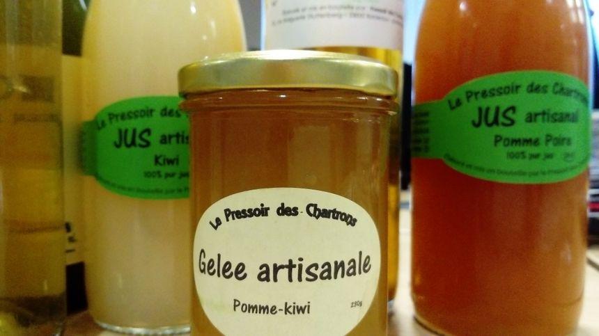 Les produits du Pressoir des Chartrons à Bordeaux