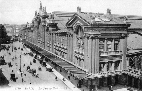 Gare du Nord, Paris en 1900