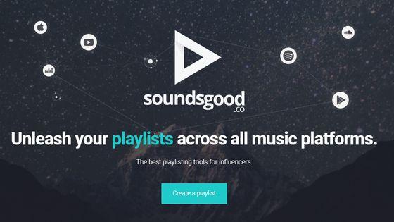 Soudsgood, une start-up spécialisée dans les playlists sur les plateformes de streaming.