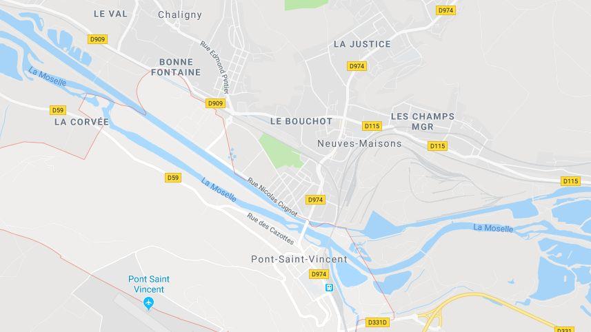 La voiture a été retrouvée dans un canal à Pont-Saint-Vincent