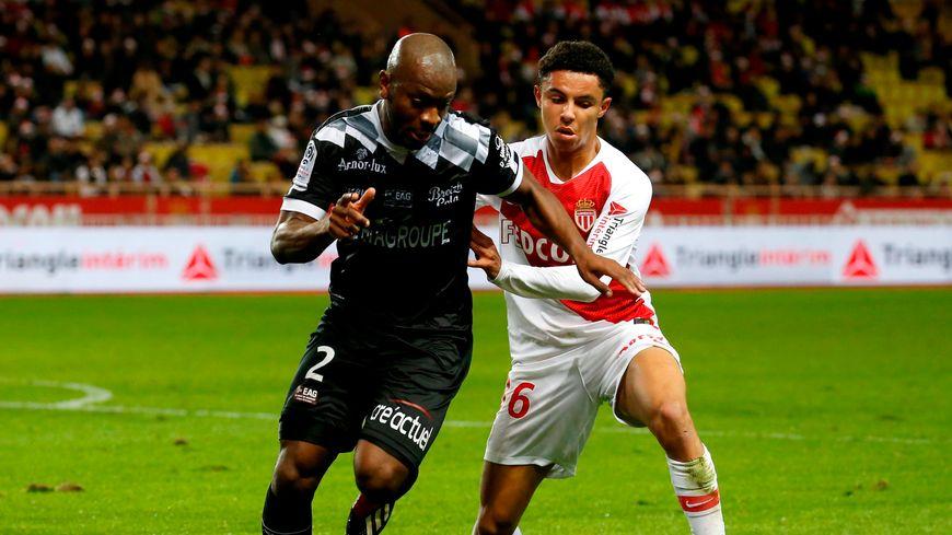 Guingamp face à Monaco lors de la 19e journée de Ligue 1 en décembre dernier.