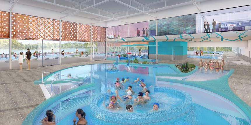 centre aquatique des Dagueys à Libourne