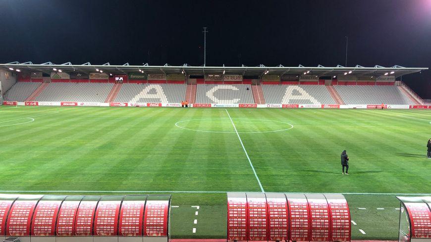 Le stade François Coty de l'AC Ajaccio