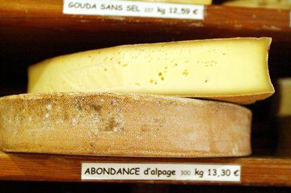 Photo du fromage de la Vallée d'Abondance