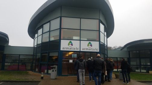 Les locaux d'Armatis, à Tauxigny.
