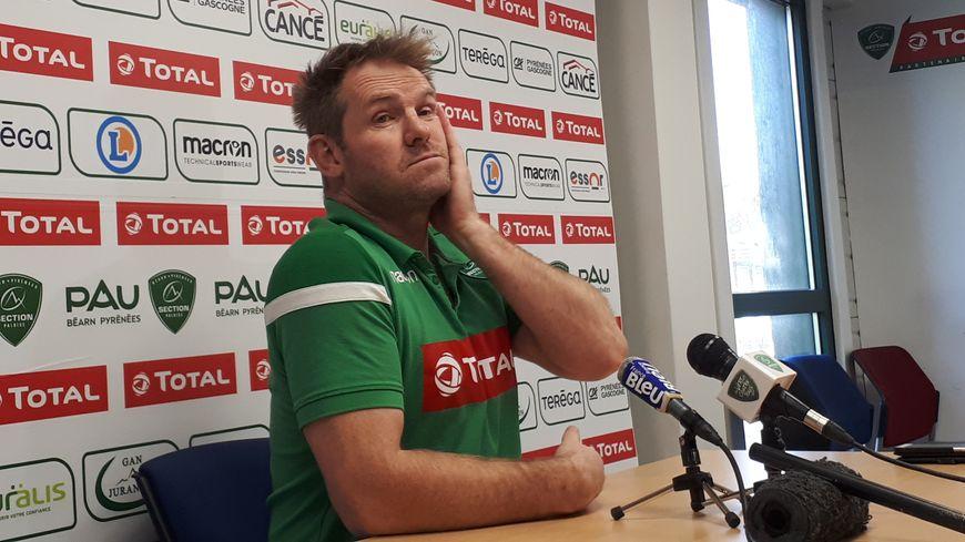 Simon Mannix, le manager de la section paloise.