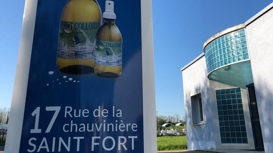 L'argent colloïdal, un antibiotique naturel fabriqué à Château-Gontier