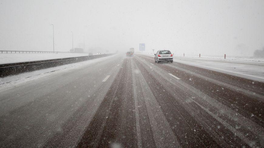 Jusqu'à 10 cm de neige sont attendus dans le Cher placé en vigilance orange neige-verglas ce mardi