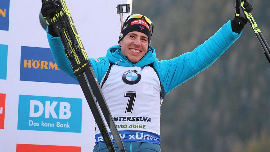 Le jurassien Quentin Fillon-Maillet a remporté ce dimanche la mass start d'Anterselva, le premier succès de sa carrière en Coupe du monde de biathlon.