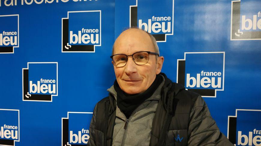 Serge Fabroo, président de Vélo-Cité 63
