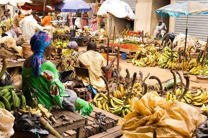 Marché alimentaire de Yaoundé