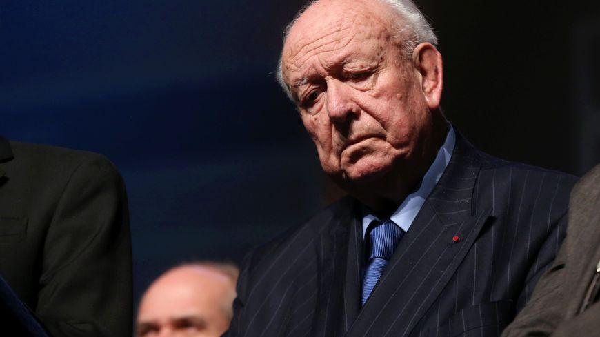 Le maire de Marseille, Jean-Claude Gaudin