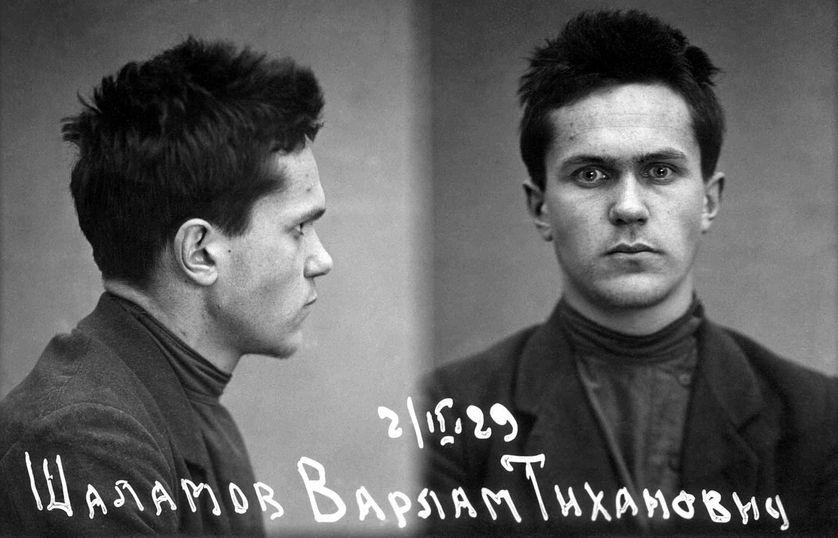 Varlam Chalamov le jour de son arrestation en 1929. Wikipédia