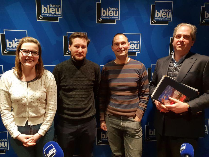 Christian Clarke de Dromantin et Aymeri Pasté de Rochefort invités de France Bleu Midi