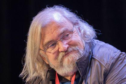 Michel Le Bris, écrivain et directeur du festival littéraire « Étonnants voyageurs », le 3 juin 2017, à Saint-Malo.