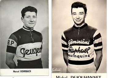 Michel Dejouhannet (à droite) est décédé à l'âge de 83 ans.