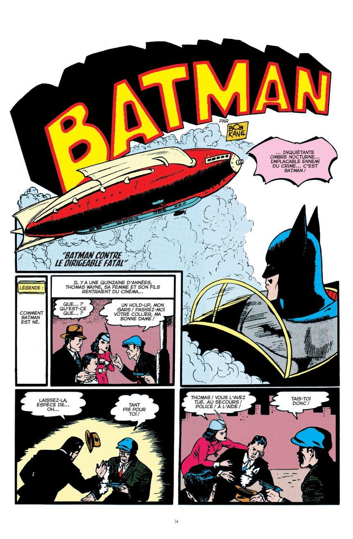 Une planche de Batman - DC-TM © 2013-2016 DC-COMICS © 2018-URBAN-COMICS pour la version francaise