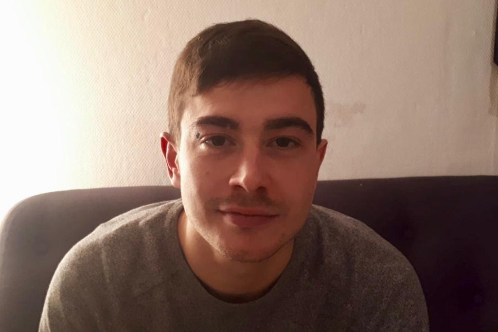 """Gabin Formont, 29 ans, à l'origine de """"Vécu, le média des gilets jaunes"""""""