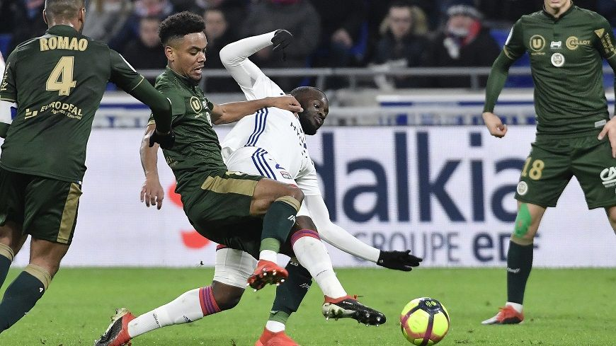 Nolan Mbemba a été l'un des artisans rémois du bon match nul obtenu à Lyon