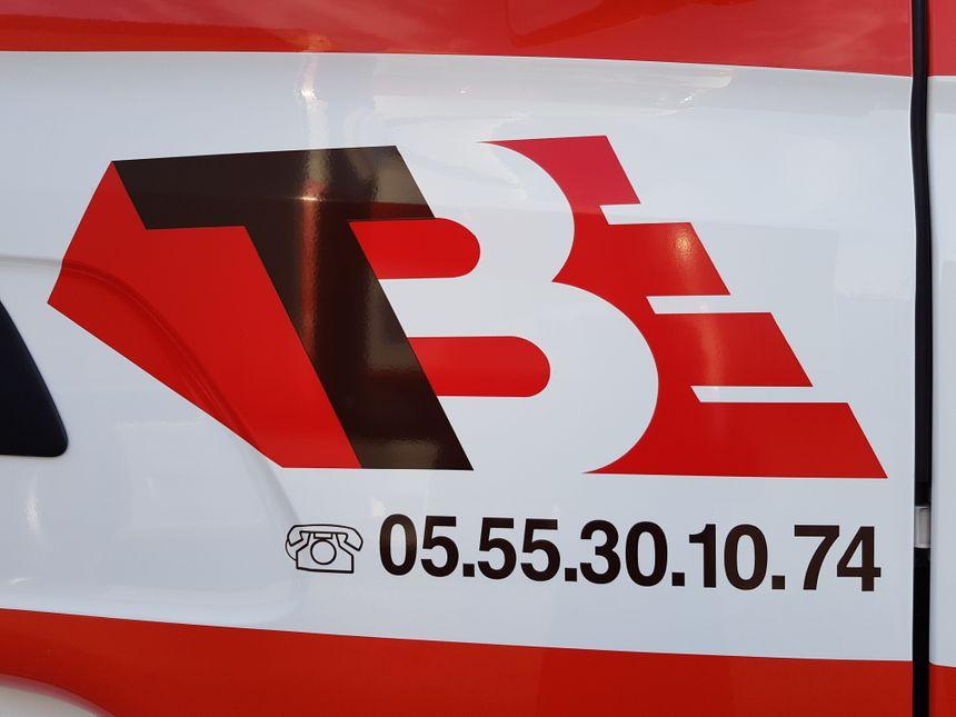 """Le logo """"dynamique"""" des transports Briche"""