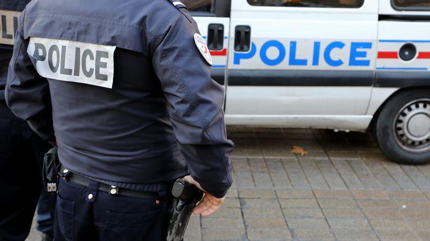 voiture de police - photo d'illustration